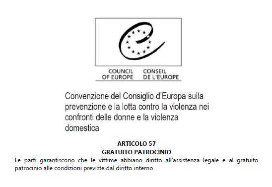 Interpellanza parlamentare sul patrocinio a spese dello Stato per le vittime di violenza di genere: il Governo risponde